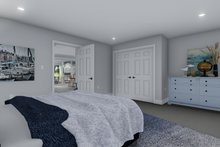 Dream House Plan - Traditional Interior - Bedroom Plan #1060-76