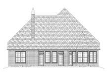 Tudor Exterior - Rear Elevation Plan #119-335