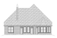 Home Plan - Tudor Exterior - Rear Elevation Plan #119-335