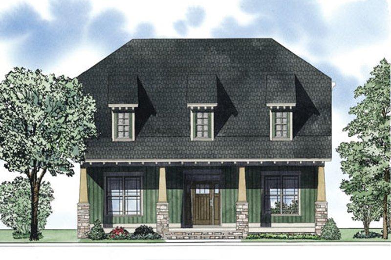 Bungalow Exterior - Front Elevation Plan #17-2407 - Houseplans.com