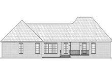 Home Plan - European Exterior - Rear Elevation Plan #21-228