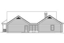 House Plan Design - Farmhouse Exterior - Rear Elevation Plan #57-178