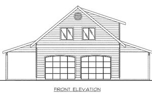 Country Exterior - Front Elevation Plan #117-749