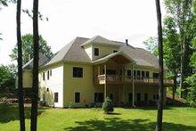 Dream House Plan - Craftsman Exterior - Rear Elevation Plan #927-2