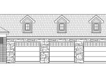 Dream House Plan - Country Exterior - Front Elevation Plan #932-211