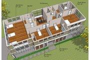 Prairie Style House Plan - 4 Beds 4 Baths 3725 Sq/Ft Plan #481-3 Floor Plan - Upper Floor Plan