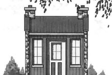 Cottage Exterior - Front Elevation Plan #23-457