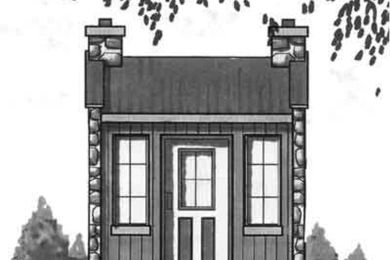 House Plan Design - Cottage Exterior - Front Elevation Plan #23-457