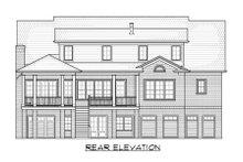 Dream House Plan - Classical Exterior - Rear Elevation Plan #1054-52