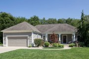 Ranch Style House Plan - 3 Beds 2.5 Baths 1712 Sq/Ft Plan #901-63 Photo