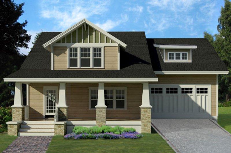 Craftsman Style House Plan - 4 Beds 3.5 Baths 2265 Sq/Ft Plan #461-39