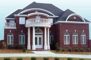 Classical Style House Plan - 4 Beds 3.5 Baths 3169 Sq/Ft Plan #119-139 Exterior - Front Elevation