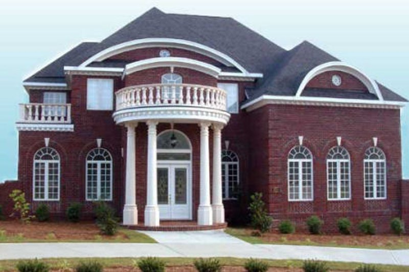 Home Plan - Classical Exterior - Front Elevation Plan #119-139