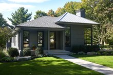 Dream House Plan - Contemporary Exterior - Front Elevation Plan #928-311