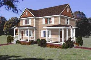 Craftsman Exterior - Front Elevation Plan #79-237