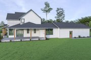 Farmhouse Style House Plan - 4 Beds 3.5 Baths 3275 Sq/Ft Plan #1070-41 Exterior - Other Elevation