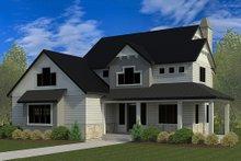 Craftsman Exterior - Front Elevation Plan #920-35