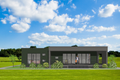 Modern Style House Plan - 4 Beds 2 Baths 1480 Sq/Ft Plan #549-12 Exterior - Front Elevation