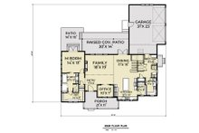 Farmhouse Floor Plan - Main Floor Plan Plan #1070-42