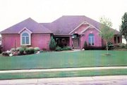 Modern Style House Plan - 3 Beds 2.5 Baths 2145 Sq/Ft Plan #421-103 Exterior - Front Elevation
