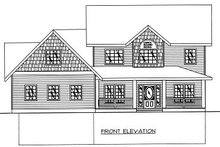 Bungalow Exterior - Other Elevation Plan #117-540