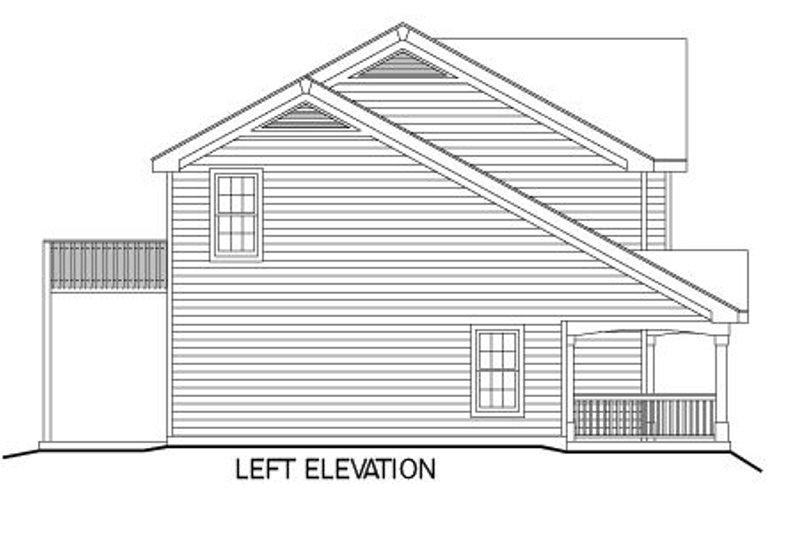 European Exterior - Other Elevation Plan #57-186 - Houseplans.com