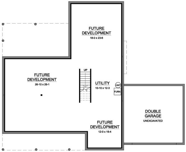 Architectural House Design - Basement