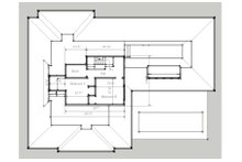 Beach Floor Plan - Upper Floor Plan Plan #481-4