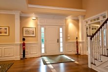 House Plan Design - Foyer - 3500 square foot Country Home