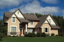 Dream House Plan - Traditional Exterior - Front Elevation Plan #56-598