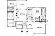 Mediterranean Style House Plan - 4 Beds 2 Baths 2010 Sq/Ft Plan #417-183 Floor Plan - Main Floor Plan