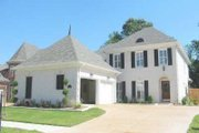 Colonial Style House Plan - 4 Beds 2.5 Baths 3048 Sq/Ft Plan #81-1485