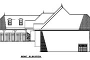 European Style House Plan - 3 Beds 4.5 Baths 4215 Sq/Ft Plan #17-2476 Exterior - Other Elevation