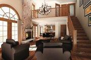 Craftsman Style House Plan - 5 Beds 3.5 Baths 3506 Sq/Ft Plan #23-419 Photo