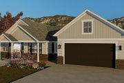 Traditional Style House Plan - 3 Beds 2 Baths 1990 Sq/Ft Plan #1060-59