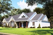 Farmhouse Style House Plan - 3 Beds 2.5 Baths 2112 Sq/Ft Plan #923-155 Exterior - Other Elevation