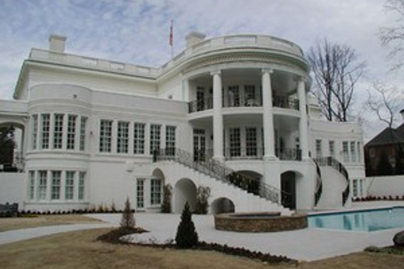 Classical Exterior - Other Elevation Plan #119-189 - Houseplans.com
