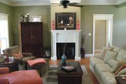 Country Style House Plan - 4 Beds 3 Baths 2500 Sq/Ft Plan #21-192 Photo