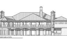 Dream House Plan - Mediterranean Exterior - Rear Elevation Plan #70-962