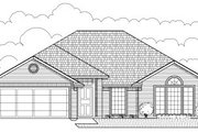 Traditional Style House Plan - 4 Beds 2 Baths 1665 Sq/Ft Plan #65-233 Exterior - Front Elevation
