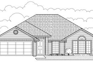 Traditional Exterior - Front Elevation Plan #65-233
