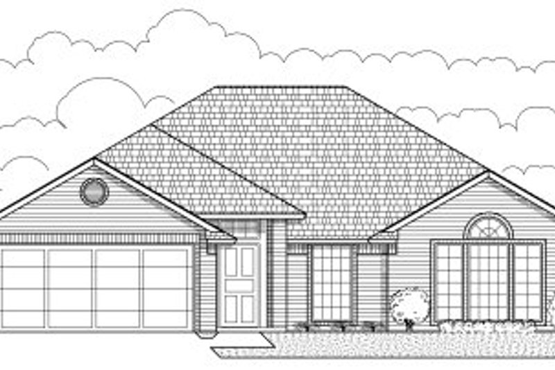 Traditional Style House Plan - 4 Beds 2 Baths 1665 Sq/Ft Plan #65-233