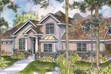 House Design - European Exterior - Front Elevation Plan #124-512