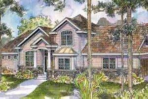 Architectural House Design - European Exterior - Front Elevation Plan #124-512