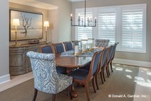 Home Plan - Country Interior - Dining Room Plan #929-1006