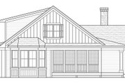 Country Style House Plan - 3 Beds 2 Baths 2273 Sq/Ft Plan #51-486 Exterior - Rear Elevation