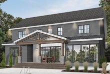 Farmhouse Exterior - Rear Elevation Plan #23-2686