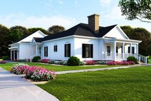 Home Plan - Farmhouse Exterior - Front Elevation Plan #923-116