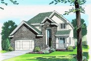 Traditional Exterior - Front Elevation Plan #455-176