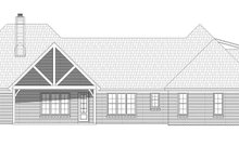 Country Exterior - Rear Elevation Plan #932-289